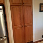 Before Kitchen Cabinet Painting in Frederick, Maryland