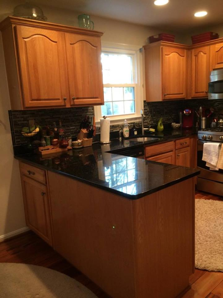 ... Maryland Before Kitchen Cabinet Painting In Frederick, ...