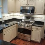 After Custom Painting of Kitchen Cabinets in Frederick, Maryland