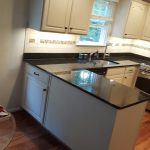After Custom Painted Kitchen Cabinets in Frederick, Maryland
