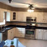 Kitchen Cabinets After Custom Painting - Wow!