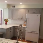 After Custom Kitchen Cabinet Painting Frederick Maryland
