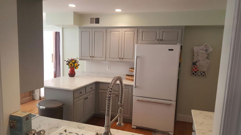 ... MD After Custom Kitchen Cabinet Painting Frederick Maryland ...