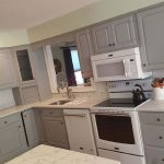 After Hand Painted Kitchen Cabinets by Tuscany Designs