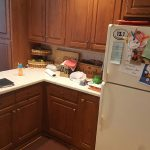 Before Kitchen Cabinet Painting in Frederick, MD
