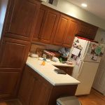 Before Cabinets | Custom Kitchen Cabinet Painting in Frederick Maryland