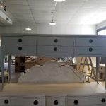 Long Dresser- Industrial Hand Painted Chic Furniture at Tuscany Designs Frederick Maryland